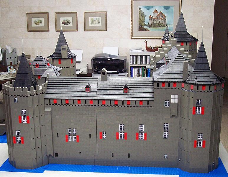 Castillos LEGO: muiderslot_2008
