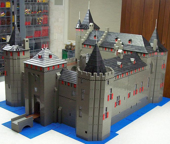 Castillos LEGO: muiderslot_2008_east