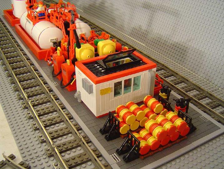 Estación de gas, por Monteur