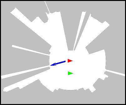 NXT sonar 3D : vista de sonar 2D