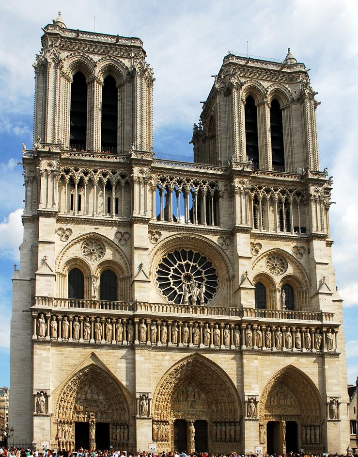 Catedral de Notre Dame, fachada