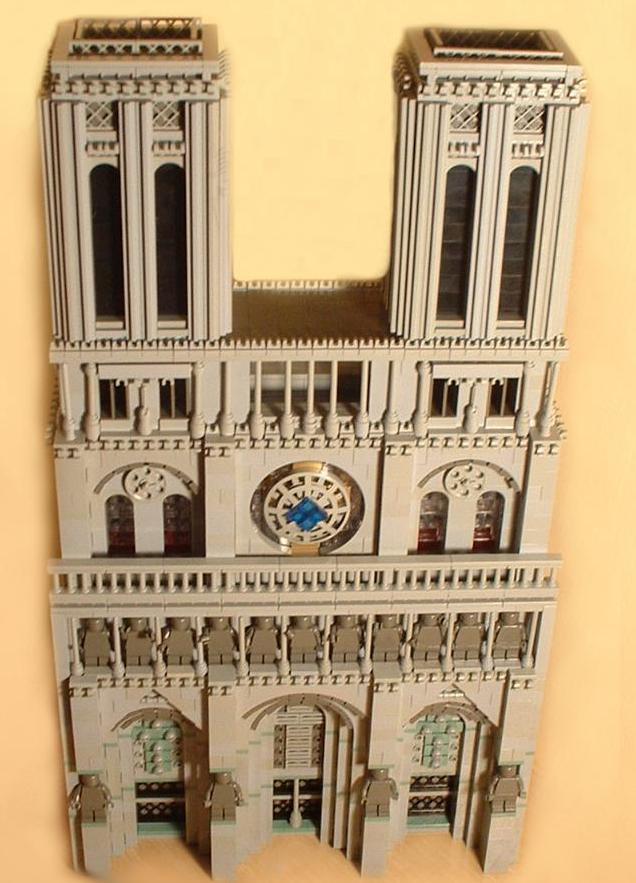 Catedral de Notre Dame, por Arthur Gugick (foto retocada)