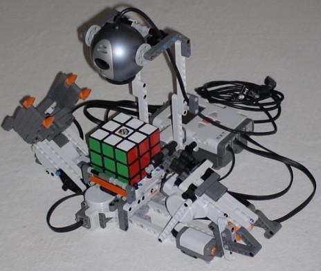 Resolvedor del cubo de Rubik