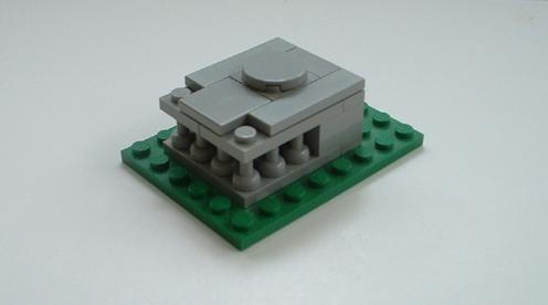 Micro edificios con LEGO
