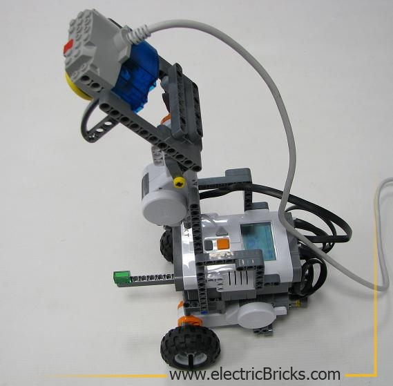 deteccion con robot 50º