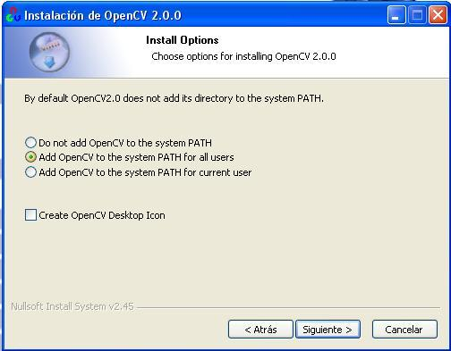 Instalando OpenCV: OpenCV