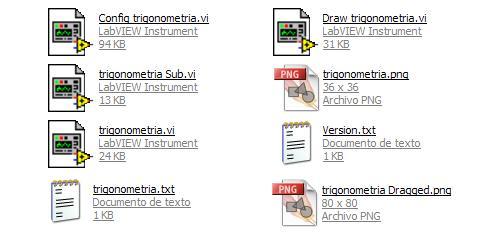 ficheros creados por la ayuda