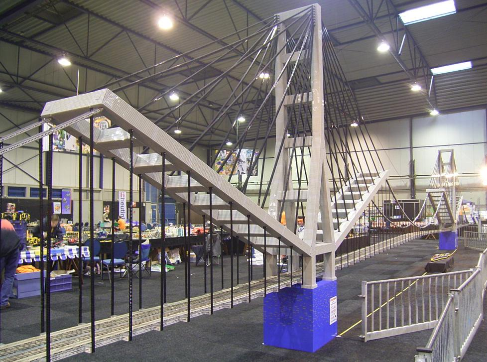 Puentes gigantes con LEGO: Puente de Gibraltar, Legoworld