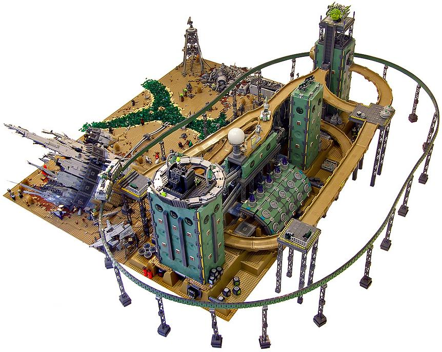 Containment, por Nannan_Z. y Legohaulic