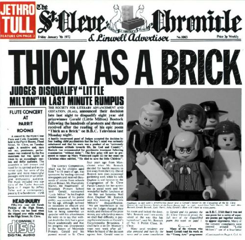 Thick as a brick, por lokosuperfluoLEGOman