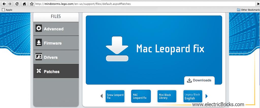 Instalar LeJOS en MAC OS X: Leopard Fix