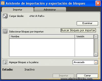 Importar Bloques2