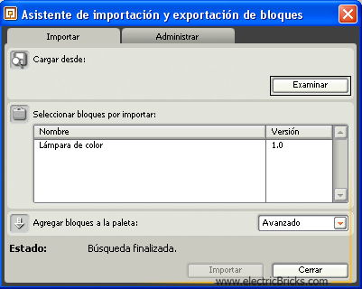 Importar Bloques3