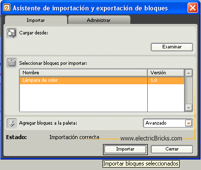 Importar Bloques4