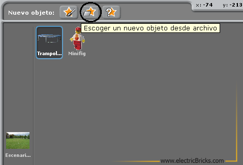 Scratch-WeDo Tutorial 2: Nuevo Objeto