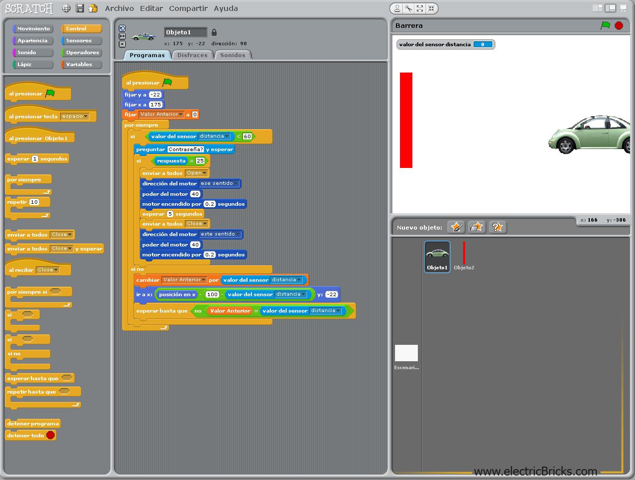 programación de Scratch