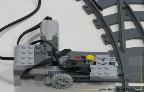 Cambio de agujas automatizado: Detalle