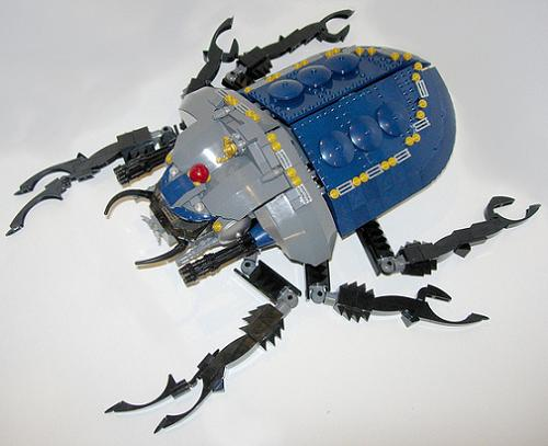 Scarab Beetle, por Doctor Mobius