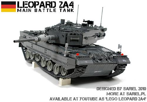 Leopard 2A4, por Sariel