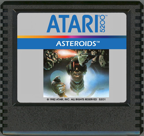 Atari 5200 Asteroids