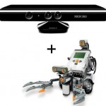 Mindstorms NXT controlado con Kinect: Kinect-tribot