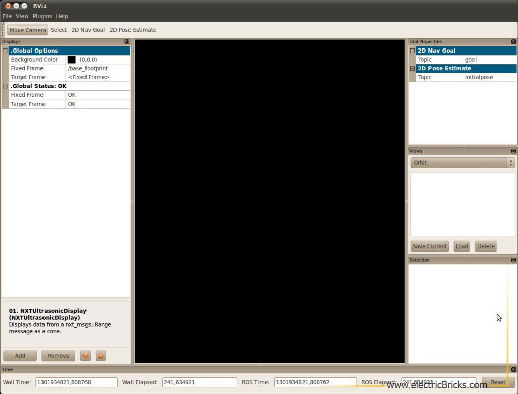 ROS Robot Operating System NXT 2: Rviz_Ini
