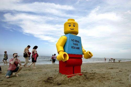 Minifig gigante LEGO