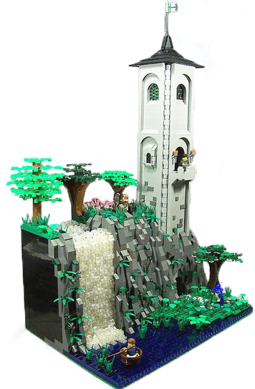 Tower in the forest, por Garbageman13