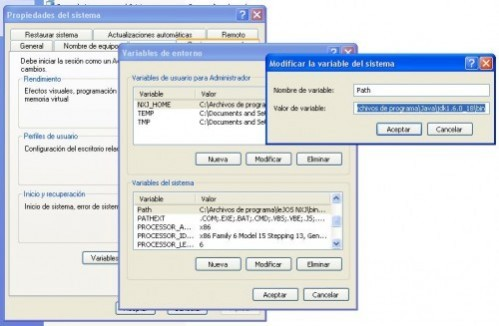 instalacion de LeJOS en windows
