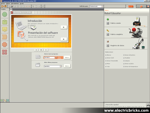 Comparativa NXT 9797 y 8547: software 9797