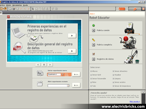 Comparativa NXT 9797 y 8547: robot educator
