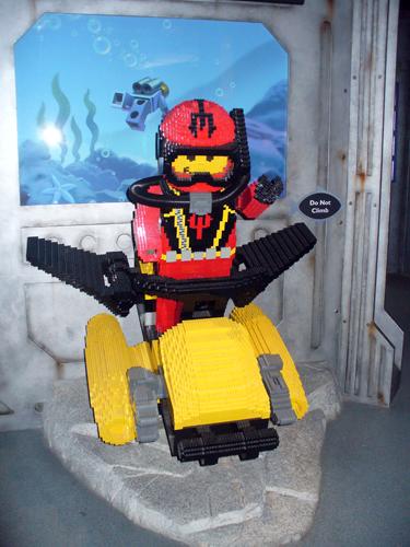 submarinista Lego