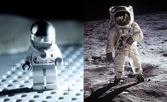 Fotos famosas en versión LEGO