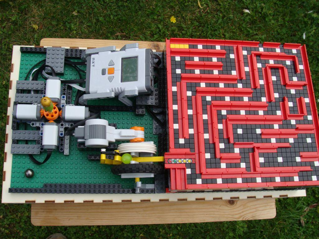 Minilaberinto con LEGO Mindstorms