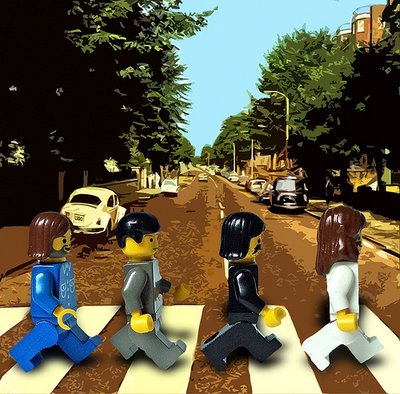 Fotos famosas: Beatles en Lego