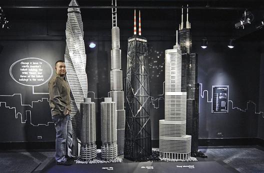LEGO y los rascacielos
