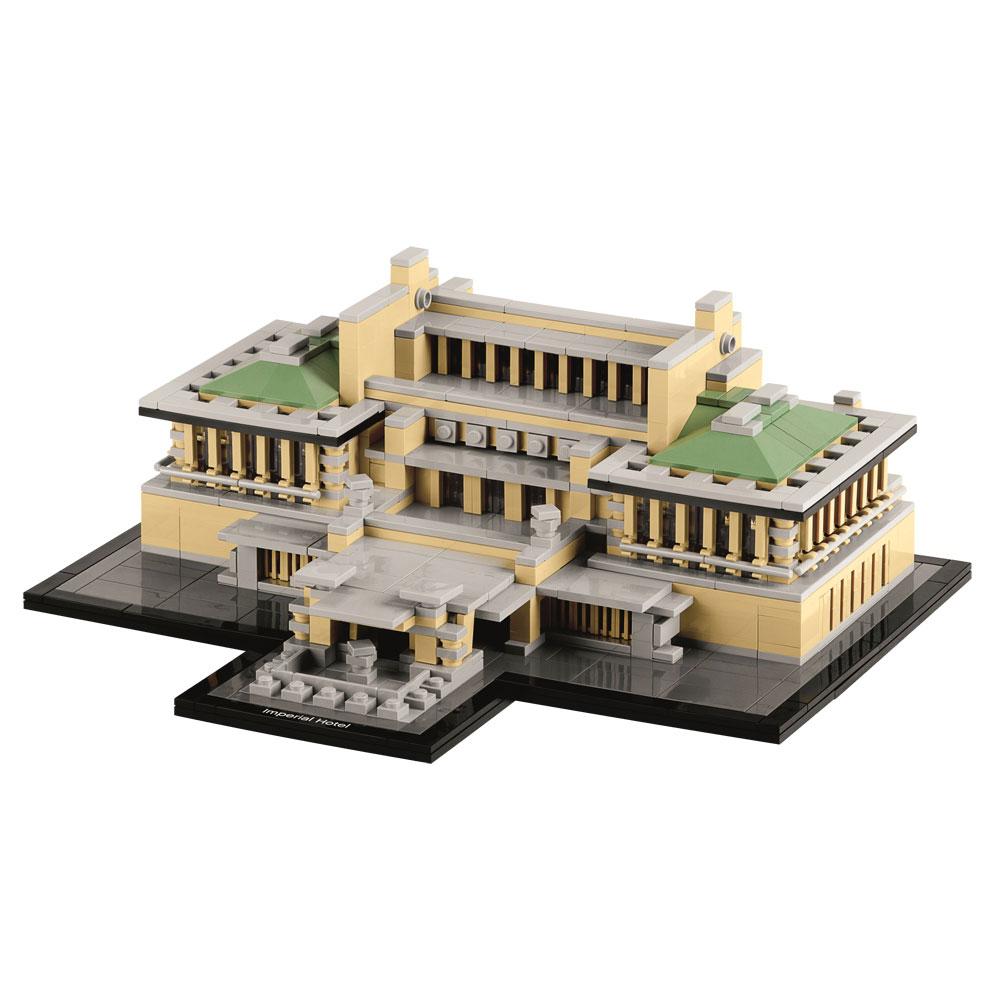 El origen de LEGO Arquitecture