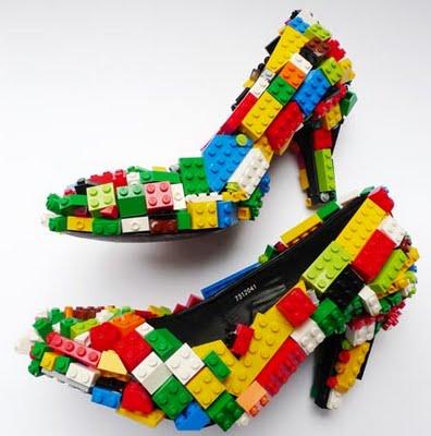 LEGO y la moda: zapatos LEGO