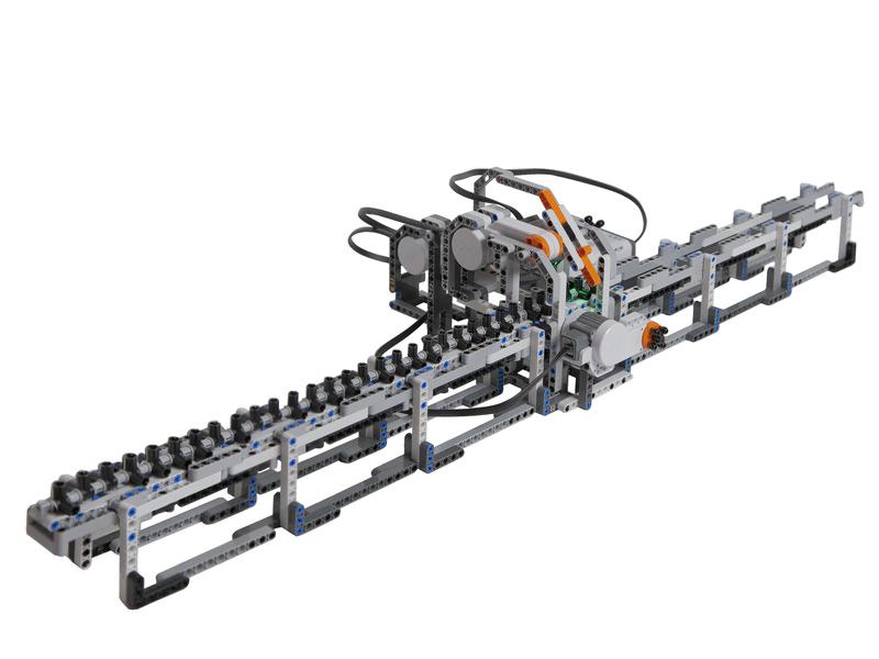 La máquina de Alan Turing en LEGO