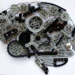 cerebro humano en LEGO