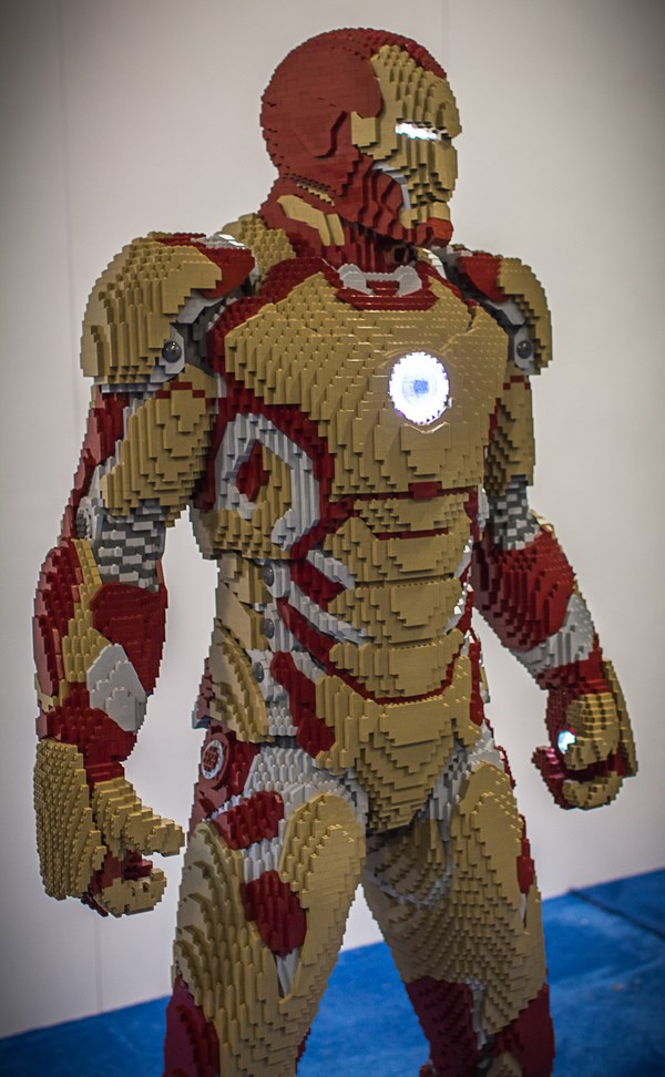 Comic-Con LEGO Iron Man