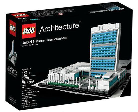 Lego architecture 21018: Sede de las Naciones Unidas