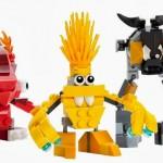 Construimos los Mixels con LEGO