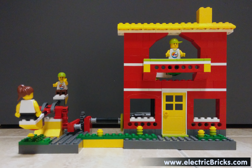 domotica con lego education: Casa WeDo frente