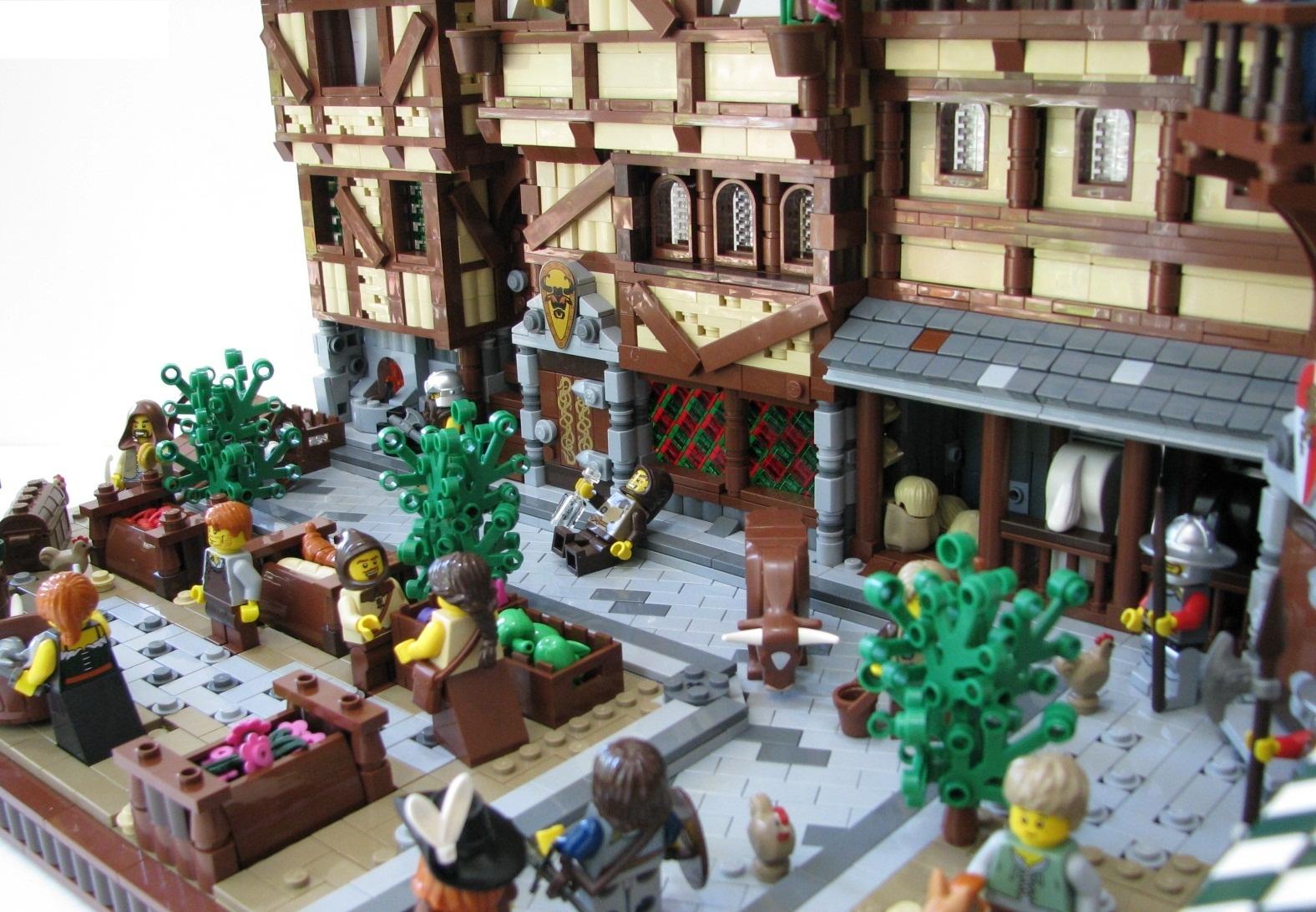 Medieval Market Street, por AP