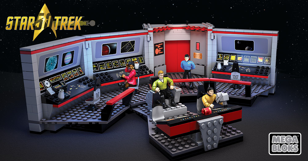 Mattel Mega Bloks Star Trek The Original Series bridge