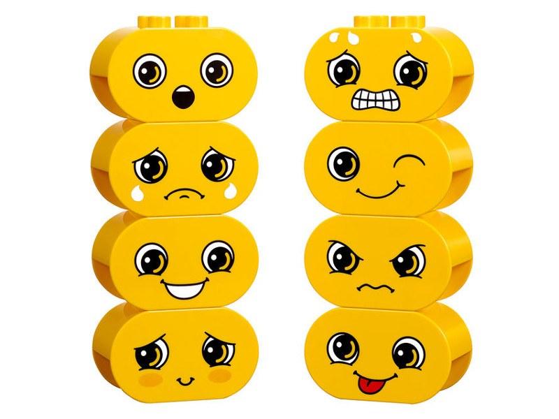 Expresiones faciales para Construir Emociones